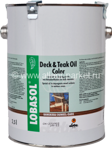 Масло LOBA Deck & Teak Oil Color (0,75 л)